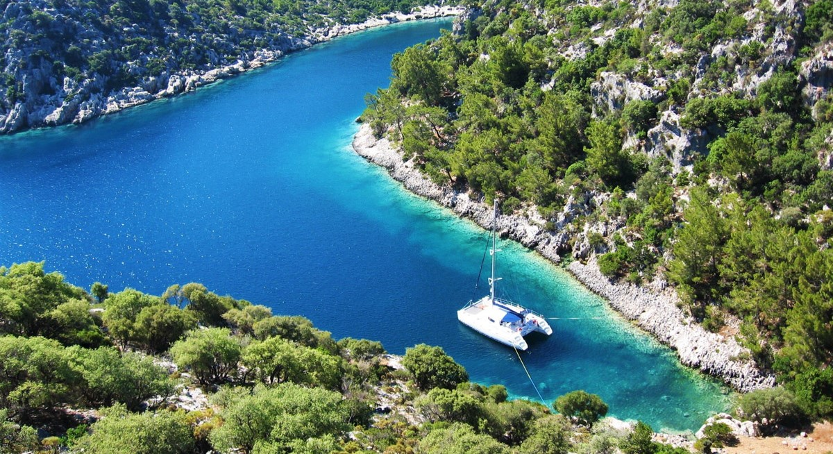 Отдых на парусной яхте в Турции