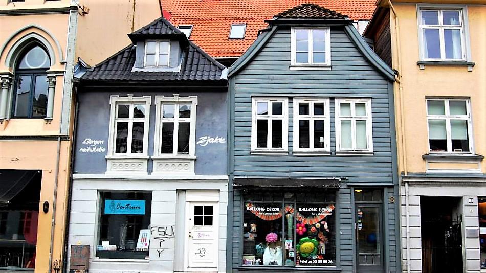 Исторический центр Бергена. Норвегия