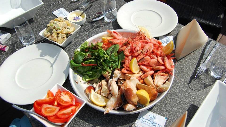Роскошные морепродукты. Норвегия