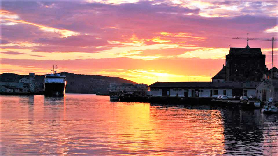 Северный закат. Норвегия