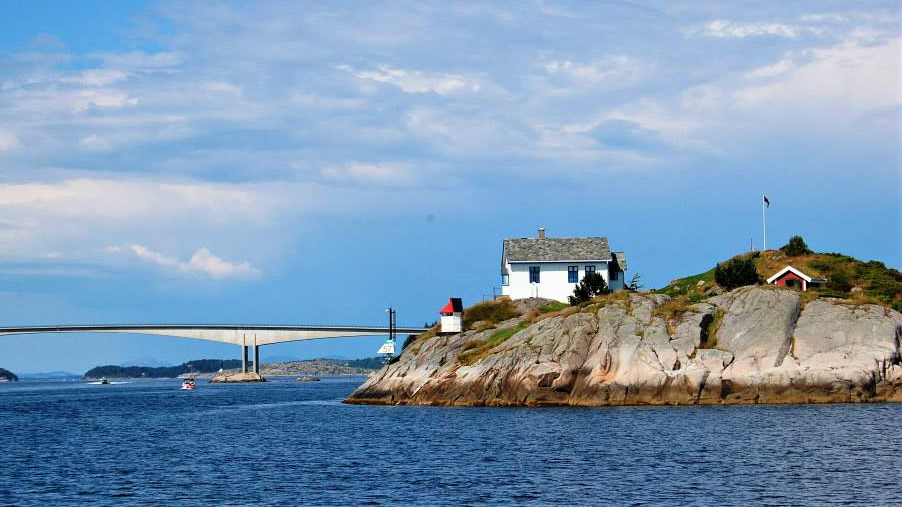 Фиорды Норвегии на яхте