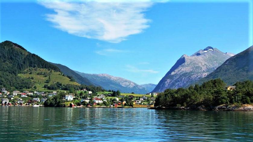 Хардангерфиорд. Норвегия